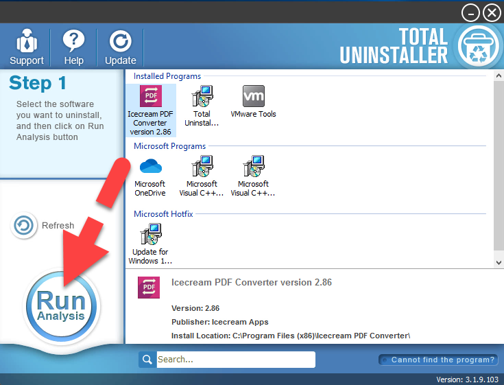 uninstall PDF Converter