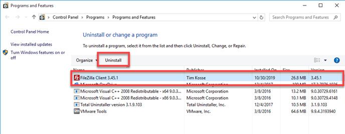 remove_FileZilla