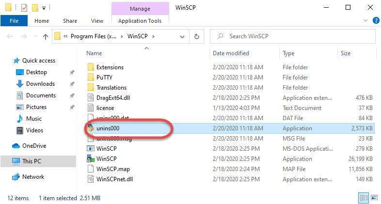WinSCP_uninstaller