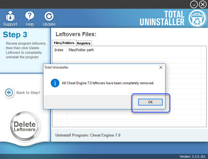remove cheat engine leftovers