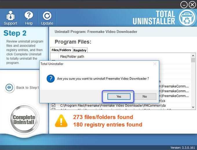 Remove Freemake Video Downloader