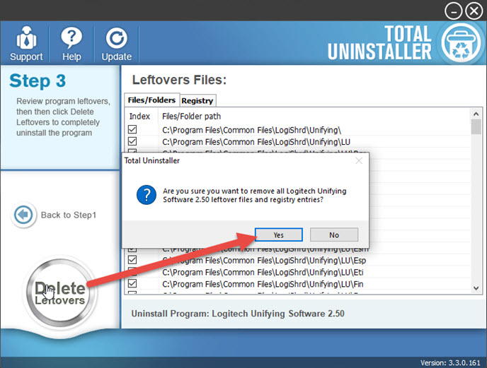 delete_Logitech_Unifying_Software_leftovers