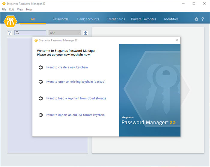 Uninstall Steganos Password Manager