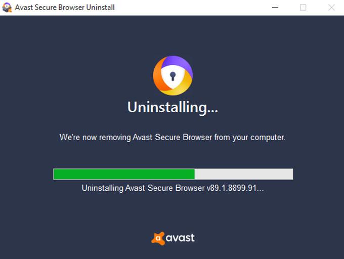 uninstalling Avast Secure Browser