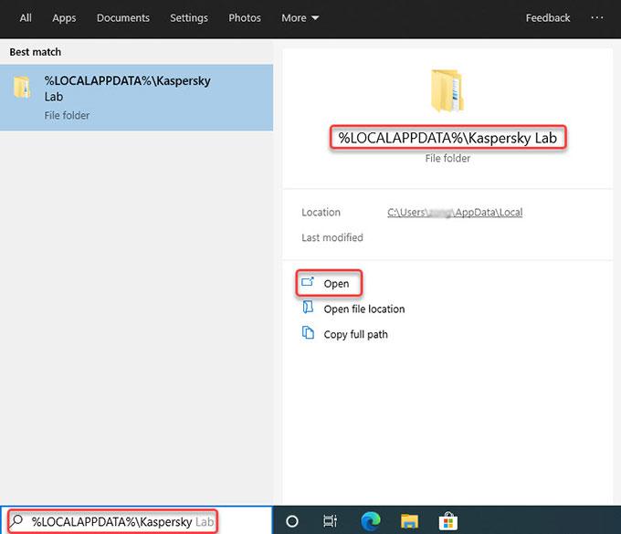 delete Kaspersky Password Manager data