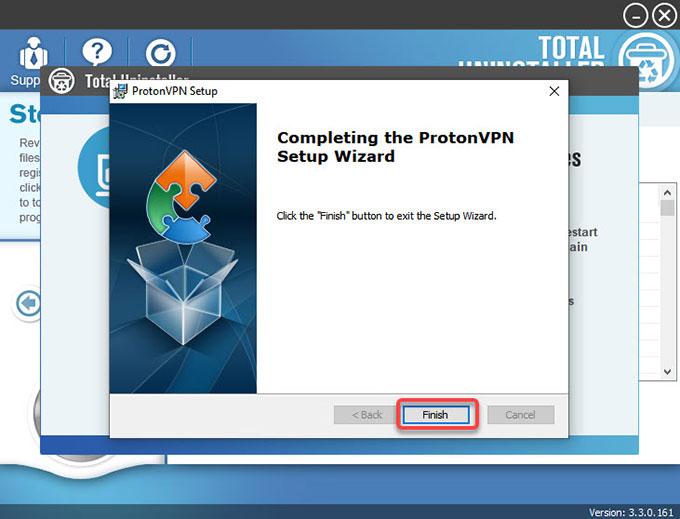 delete ProtonVPN leftovers