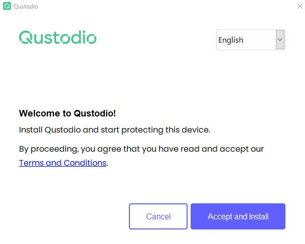 Cannot Install Qustodio